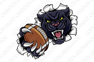 Black Panther American Football