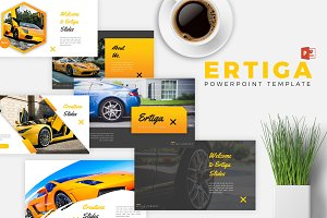 ERTIGA - Powerpoint Template