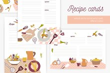 Recipe cards set by  in Cards
