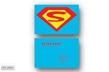 Superhero Business Card Templates