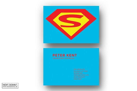 superhero business card templates business card templates