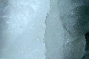 Cracked Ice Close Up