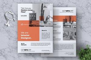 Interior Design Flyer Vol. 01