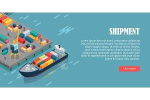 Port Warehouse Shipment Banner