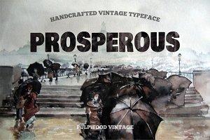 Pulpwood font vintage typeface