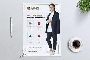 KLEIN Fashion Store Flyer