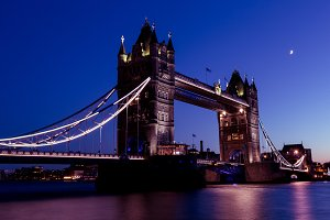 Tower Bridge London city skyline