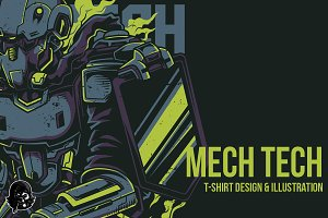 Mech Tech Illustration