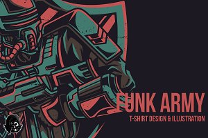 Funk Army Illustration