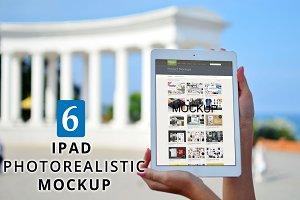 iPad Photorealistic MockUp