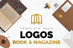 Books & Magazine Logos Pack