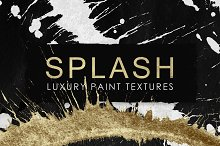 Splash Luxury Paint Backgrounds