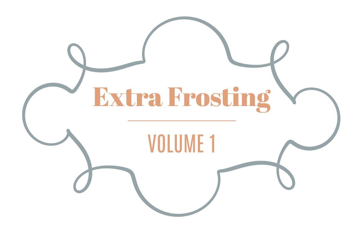 Extra Frosting Vol. 1 | 20 Ornaments