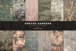 Greyed Gardens & Gold Graphics