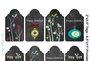 Digital Christmas Tags 2