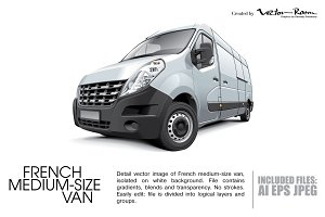 French Medium-size Van