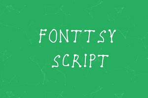 Fonttsy Script