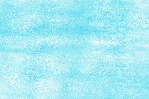Blue textured background.