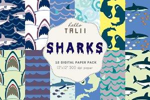 Sharks Digital Paper