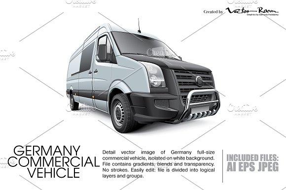 9bd030915e Germany Commercial Vehicle ~ Icons ~ Creative Market