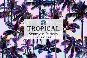 Tropical Pattern & Seamless Print