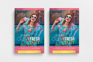 Every Day Is A Fresh Start Flyer