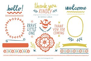 Thank You Kindly (Clipart)