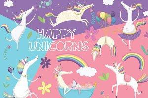 Happy Unicorns