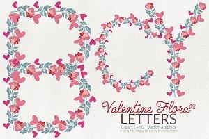 Valentine Flora 02 - Letters 01