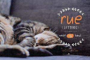 Rue Letters (Font)