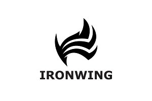 Ironwing Logo Template