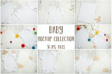 Baby mockup collection