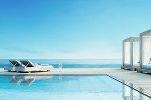 Beach lounge - ocean villa