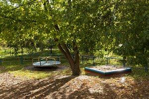 Summer children playground
