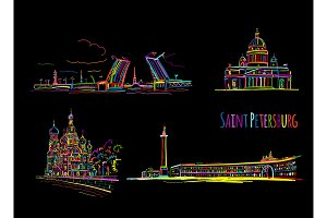 Symbols of Saint Petersburg, Russia