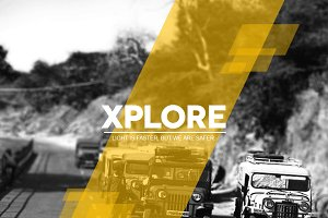 Xplore Magazine Keynote Template