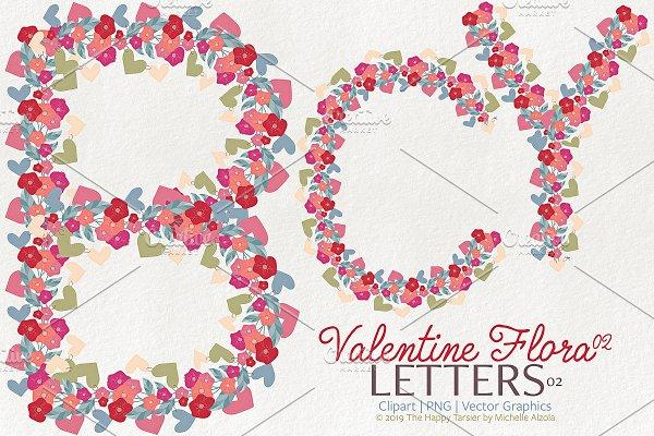 Valentine Flora 02 - Letters 02
