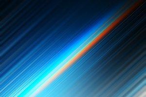 Diagonal neon spectrum rays motion b