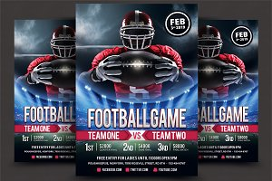 Football Super Ball Flyer