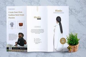 BLANKS Fashion Flyer