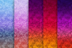 Marble Ombre 5 JPEG files