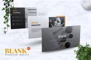 BLANK - Powerpoint Template