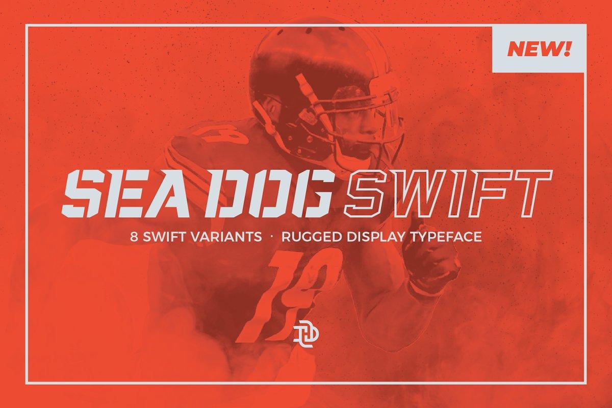 Sea Dog Swift | Athletic Display