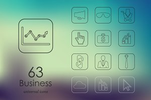 63 business icons