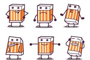 Illustration Of Cartoon Eraser