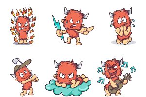 Illustration Of Fur Monster
