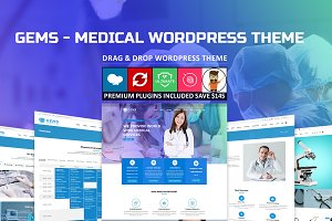 Gems - Medical Drag & Drop WordPress