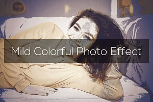 Mild Colorful Photo Effect