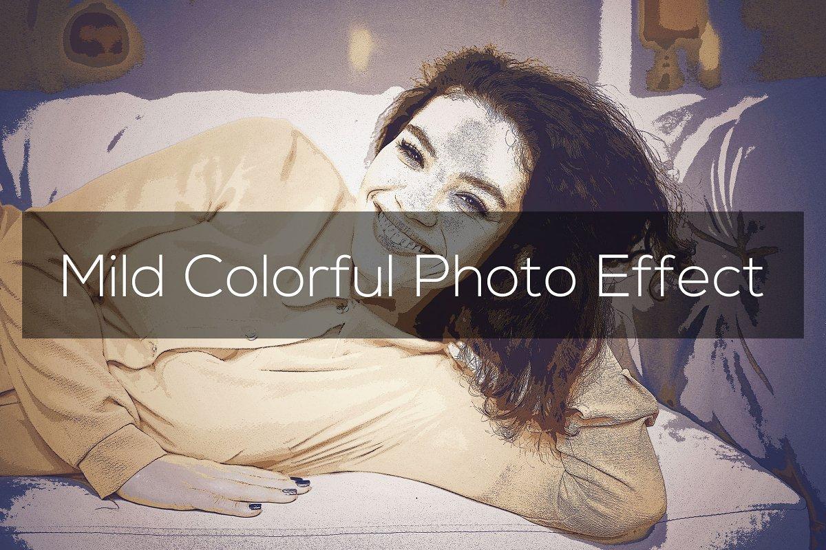 Mild Colorful Photo Effect