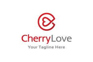 Letter C Love Logo